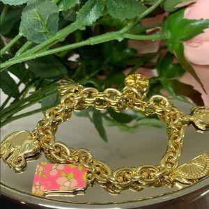 🌺Lilly Pulitzer Charm Bracelet